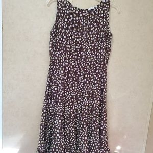 Sandra Darren Polka Dot Dress sz 10